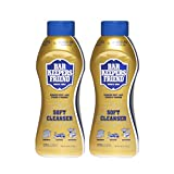 Bar Keepers Friend Soft Cleanser Liquid (26 oz - English/Spanish) - Multipurpose Cleaner & Rust Stain Remover for Stainless Steel, Porcelain, Ceramic Tile, Copper, Brass, and More (2)