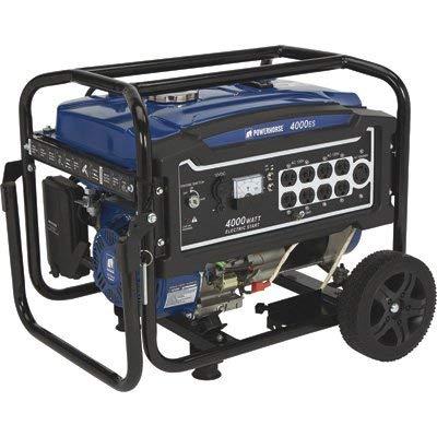 Powerhorse Portable Generator - 4000 Surge Watts, 3100 Rated Watts, Electric Start