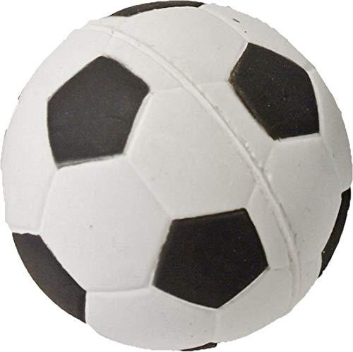 Hondenspeelgoed drijvende spons voetbal 9cm