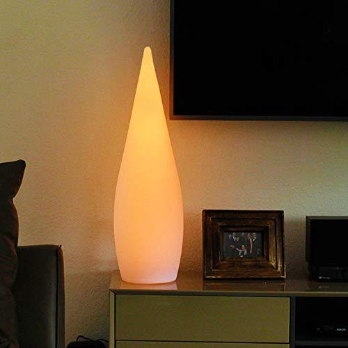 Arnusa Oasis Lights Große Stehlampe Kegel 80 cm mit Fernbedienung RGB und Akku Funktion Dekolampe Gartenlampe Tischlampe Dekoleuchte