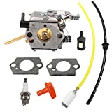 CIVIKY Kit de Piezas de Repuesto para carburador Stihl FS48 FS52 FS62 FS66 FS81 FS86 FS88 FS106 Walbro WT-45 Piezas-2 Piezas