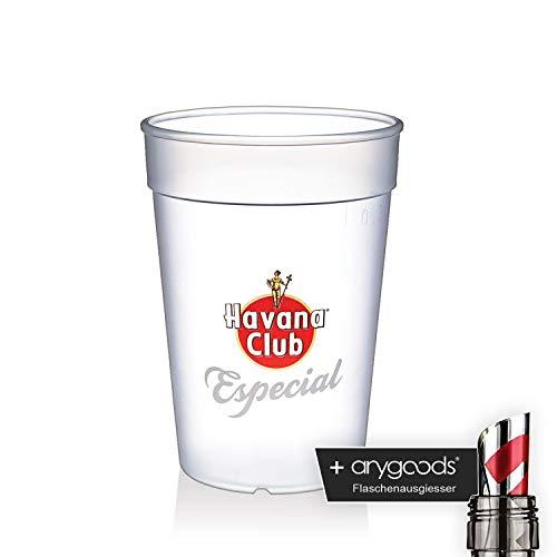 Havana Club Glas Gläser Especial Kunststoff Becher Gastro Bar