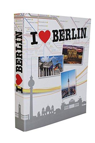 Idena 10182 - Ordner Berlin, DIN A4, FSC-Mix