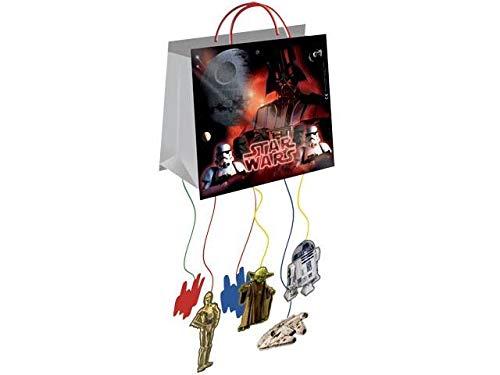 PEQUEFIESTA 00340; Piñata Star Wars, Darth Vader; AR; Producto de cartón y Papel.