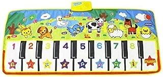 billyu Electronic Piano Blanket Educational Music Dance Fitness Game Mat 19 Keys Keyboard Playmat for Kids
