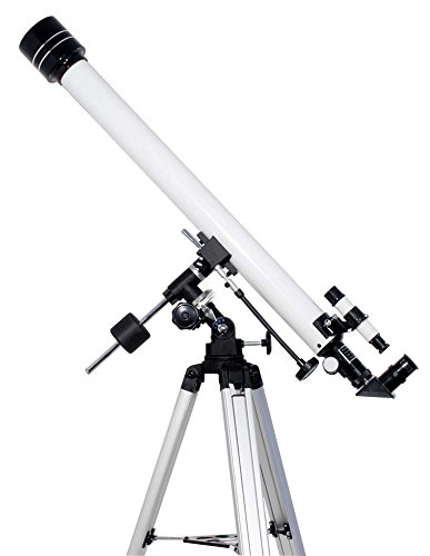 TS-Optics Einsteiger Refraktor Teleskop R 60/900 mm EQ-1 Komplettpaket Inclusive viel Zubehör Mondfilter, Starscope609