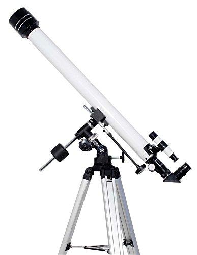 TS-Optics Teleskop 60/900 EQ-1, mit 124 seitigem Buch Das Astro-Teleskop für Einsteiger Komplettpaket für Einsteiger, Starscope609