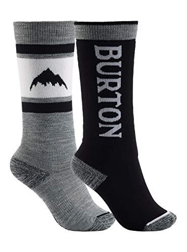 Burton Kinder Snowboard Socken Weekend Midweight, True Black, ML, 15171103001