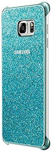 Samsung Plus Glitter Custodia per Galaxy S6 Edge Plus, Blu