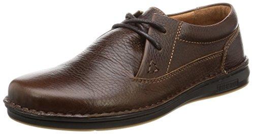 BIRKENSTOCK Schuhe Memphis in Dark Brown aus Echt Leder in Größe 40.0 S EU Schmal,Artnr. 406823