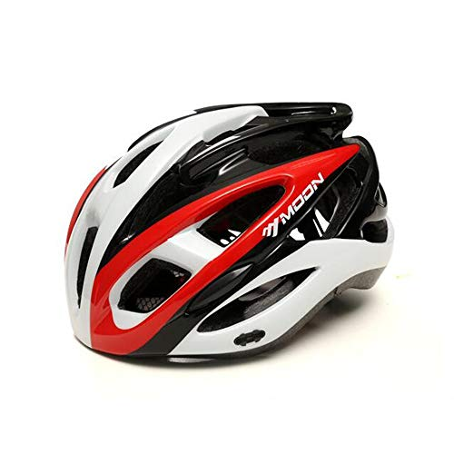 L.J.JZDY Cycling Helmet Bicycle Helmet Cycling Helmet Goggles Riding Mountain Bike Road Men and Women Cycling Sports Equipment Custom Biking Helmets (Color : 6, Size : UK 16)