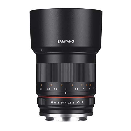 Samyang CSC-Mirrorless - Objetivo fotográfico para Micro Cuatro Tercios (50mm F1.2 AS UMC CS), Negro