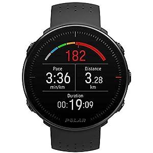BATERÍA DE LARGA DURACIÓN: hasta 30 horas de entrenamiento con GPS. Reloj resistente al agua todo en uno. Polar Vantage M es para los deportistas que buscan nuevos retos. TECNOLOGÍA POLAR PRECISION PRIME: control preciso de la FC con sensor óptico en...