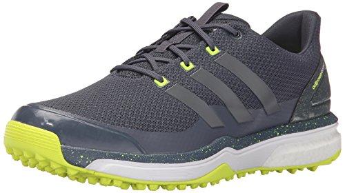 Adidas Adipower S Boost 2 Golf con Listones, Core Negro/núcleo Negro/Blanco FTWR, 7 M US