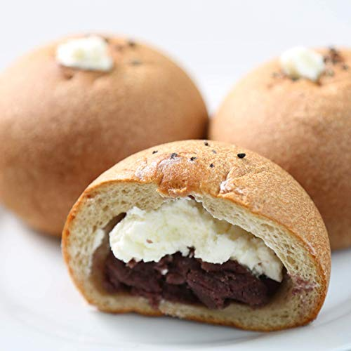 低糖質 パン オーツ麦ふすまパンあんこクリーム 10個入り 糖質制限 パン ダイエット 糖質カット みどり工房