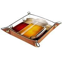 Dimensions : 16 x 16 cm ou 20,3 x 20,3 cm Élégant et élégant, fabriqué à partir de cuir de grande qualité, avec des boutons-pression dans les 4 coins pour le rendre facile à plier, déplier et à ranger à plat dans votre étui ou sac. Cadeau unique pour...