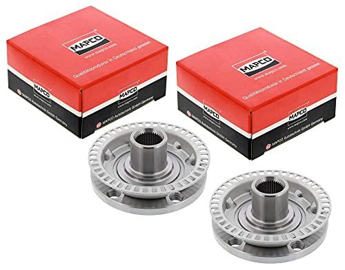 Mapco Special Parts 46737/112 Radnaben Satz für Golf 4 IV Umbauset von 5x100 auf 5x112 Plug&Play