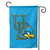 University Of Delaware flag 12x18, Delaware garden flag 12x18, Delaware banners and flags, hanging flags, Delaware Yard Banner Double Sides Durable Fade-Resistant outdoor Home decorative flags