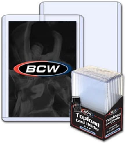 50ct Many popular brands Dealing full price reduction BCW 3.5mm 138pt Real Card Thick Top Loaders