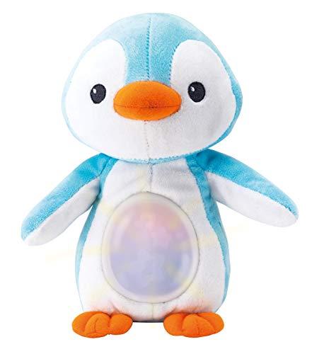 WinFun- Amigo Pingüino con Canción de Cuna y Luces, Color azul (CPA Toy Group 160) , color/modelo surtido