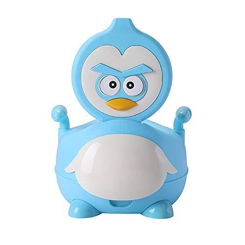 LOHOX Abattant Toilette Amovible Siège de Toilettes Trainer Pot WC Dossier Confortable Portable et Durable pour Chaise Bébé Enfants