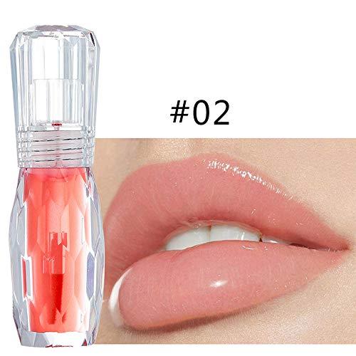 MongKok 1 Pcs Liquid Lipstick Lip Plump Lipgloss Menthol Oil Refine Lip Lines
