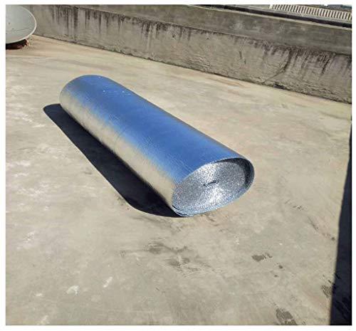 4mm Rollo Aislante Térmico De Aluminio Rollo Aislante Termico Aluminio Aislante Espuma De Aislamiento De Coche Para Reflector De Calor Áticos Impermeables Ventanas Garajes Conduc(Color:4mm,Size:1x20m)
