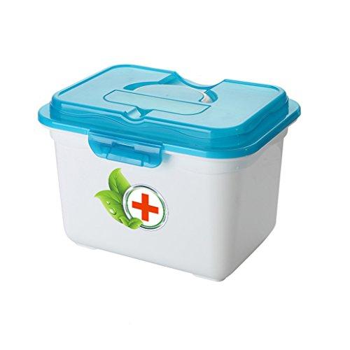 QARYYQ Huishoudelijke Geneeskunde Doos Kind Baby Kleine Geneeskunde Doos Grote Medische Extra Grote Eerste Hulp Doos Medische Opslag Doos 23x32.5x24.5cm Voorraaddoos