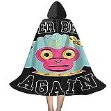 YRUI Young-Boy Never Broke Again - Capa con capucha para niños, disfraz de Halloween, color negro y pequeño