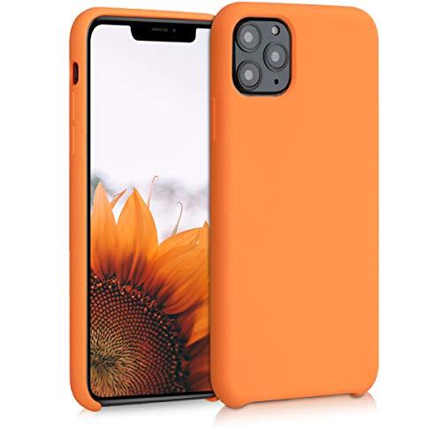 kwmobile Hülle kompatibel mit Apple iPhone 11 Pro Max - Handyhülle gummiert - Handy Hülle in Cosmic Orange