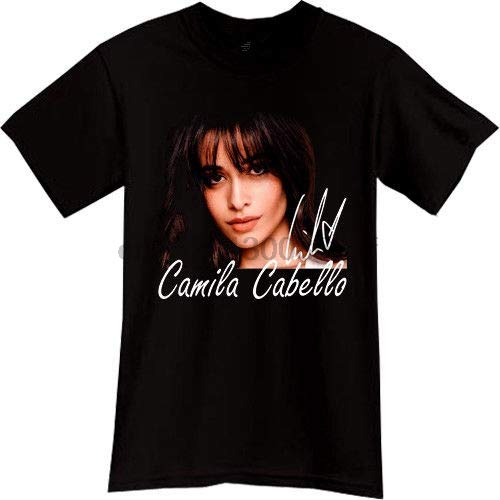 IKG Cheap T Shirts Online Crew Neck Short Camila Cabello Havana Top Billboard Music Singer Printing Mens Shirt