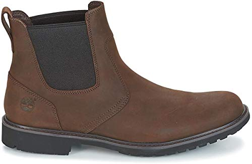 Timberland Earthkeepers Stormbuck Mens Chelsea Boot Burnished Dark Brown Oiled UK12.5 EU47.5 US13
