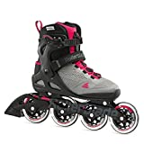 Rollerblade Macroblade 90 Women's Adult Fitness Inline Skate, Neutral Paradise Pink