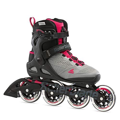 Rollerblade Damen MACROBLADE 90 W Inline-Skate, NEUTRUM GRAU/Paradies ROSA, 265