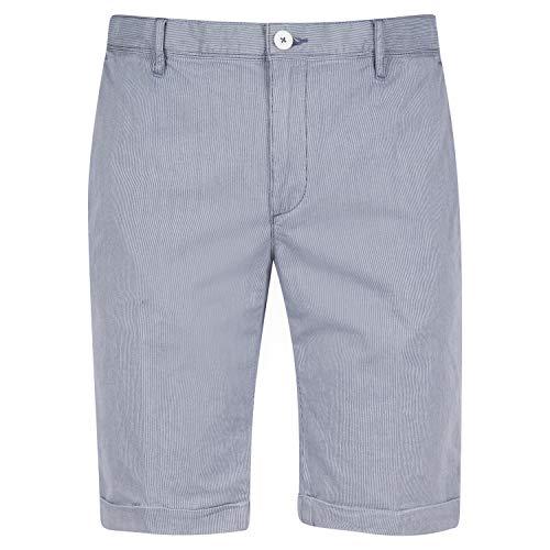 ALBERTO Shorts mit Streifen Marine (880 Dark Blue) 34