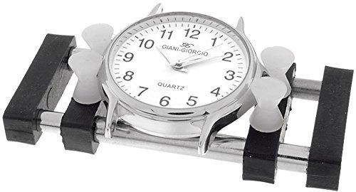 Uhren Gehäusehalter mit Kunstoffbacken für Gehäuse 15-42 mm