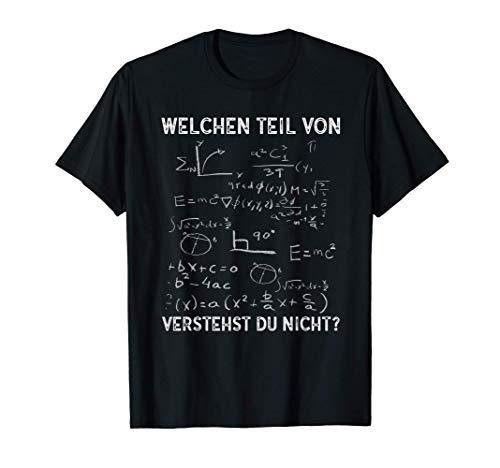 Lustiges Mathe Lehrer Mathelehrer Mathematiker T-Shirt
