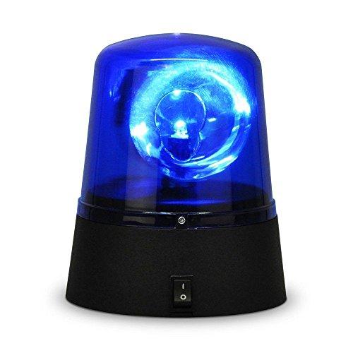 Ardisle Polizei-LED-Blaulicht, rotierend, für das Auto, Disco-Party, DJ-Licht, Rave; stroboskopisch, Sirene