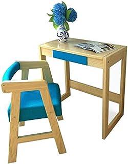 مجموعة الكراسي الطاولات عالية الجودة، أعمال منزلية للأطفال، خشب الصنوبر الصلب للأثاث، مكتب كمبيوتر، مكتب للمنزل