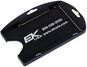 Black EK Dual Sided Smart Card Holder with Slot Holes (10574) by EK USA