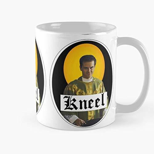 ClownZii Kneel Fleabag Phoebe Priest Bridge Religion Andrew Scott Sherlock Waller Halo Best 11 oz Kaffeebecher - Nespresso Tassen Kaffee Motive