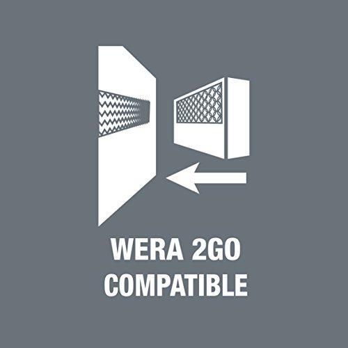 Wera - 5059297001 Kraftform Kompakt 62 Bitholding Screwdriver and Pouch Set, 33-Pieces