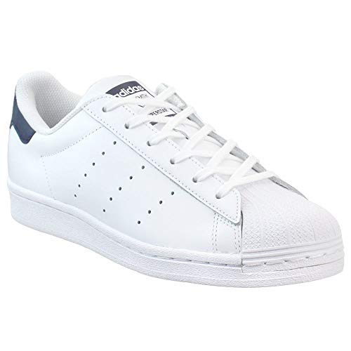 adidas Kids Boys Superstar Stan Smith Lace Up Sneakers Shoes Casual - White - Size 5.5 M