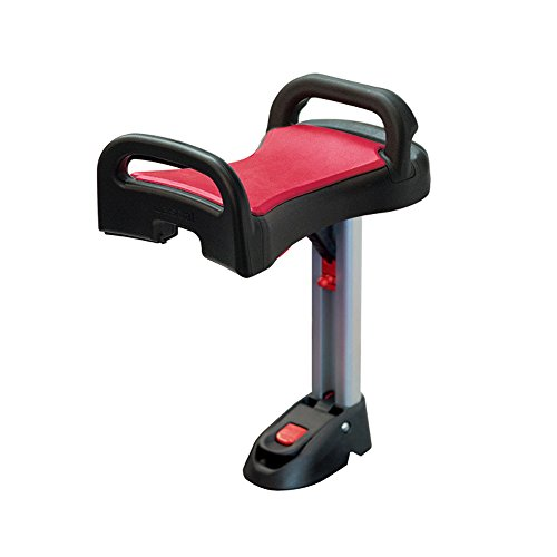 Lascal Buggyboard Saddle, Compatible with Maxi Buggyboard, Red