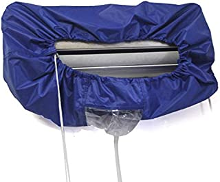 Air Conditioner Waterproof Cleaning Cover, Blue