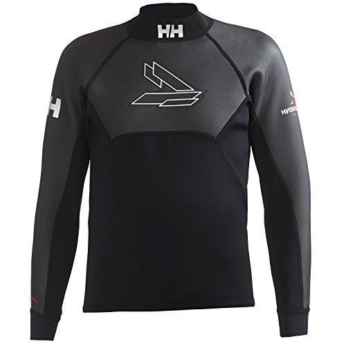 Helly Hansen Wet Camiseta Deporte, Hombre, Negro (Negro 990), XXX-Large (Tamaño del Fabricante:3XL)