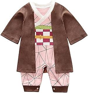Ubrania dla noworodków cosplay bawełna body z długim rękawem kreskówka anime piżama nadruk dla chłopców i dziewcząt piękny...