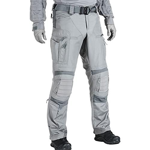 Q&M Hombres Pantalone Cargo Cómodo Transpirable Trabajo de Combate Pantalones para Exteriores Acampar Senderismo