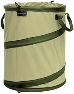 Fiskars 394040-1001 Kangaroo Collapsible Container Gardening Bag, 10 Gallon Capacity, Green