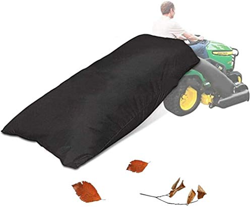 ELR Lawn Tractor Leaf Bag Garden Lawn Mower Leaves Waste Trash Collection Bags Cleaning Tool Grass Catcher Leaf Bag for Lawn Tractors